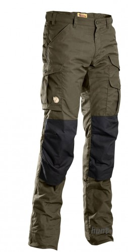 Barents Pro Winter Trousers, kolor: 633/550 Dark Olive/Black.