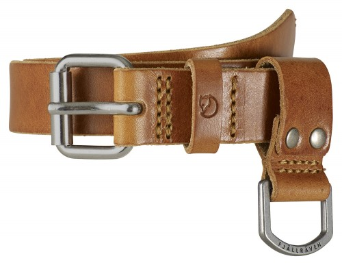 Fjallraven Kids Sarek Belt, kolor 249 Leather Cognac