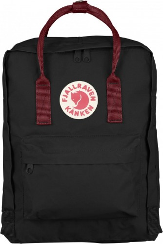 Fjallraven Kanken, kolor: 550-326 - Black/Ox Red.
