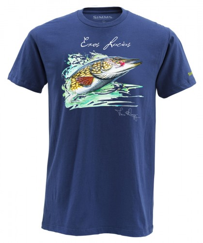 Simms T-Shirts Pike, kolor: 410 - navy