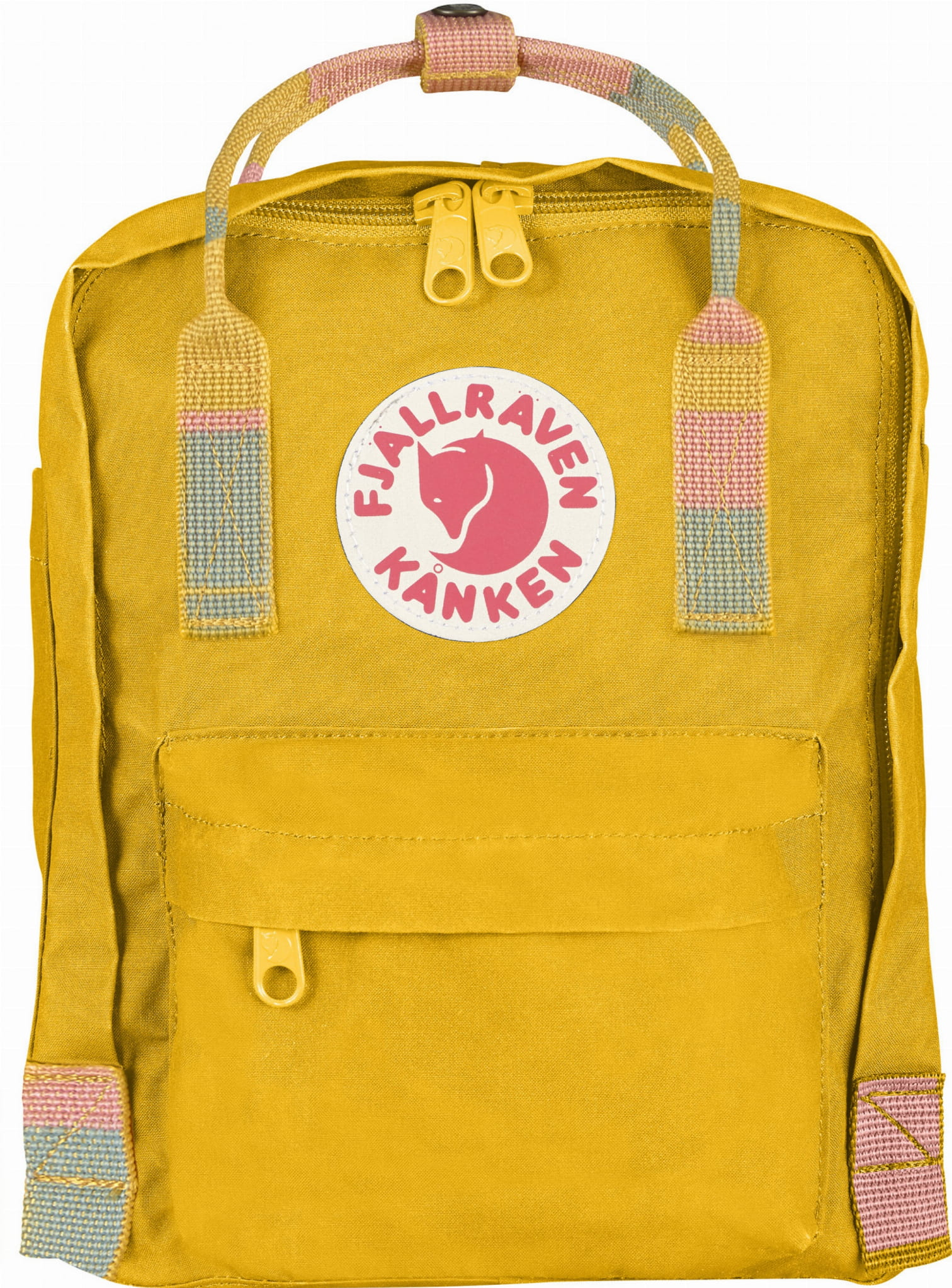 97480ff4eccd0 ... Fjallraven Kanken Mini, kolor: 141-905 - Warm Yellow-Random Blocked.